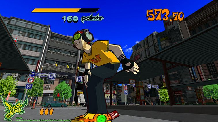 Jet Set Radio makes its HD debut for $10