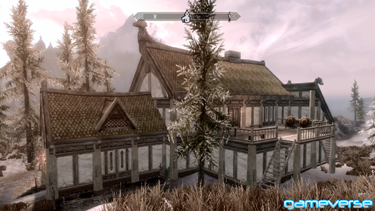 Skyrim hearthfire review gameverse for Houses to build
