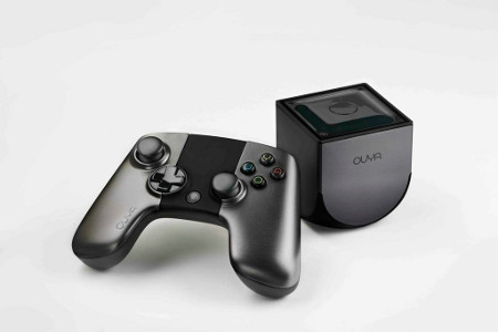 ouya console & controller