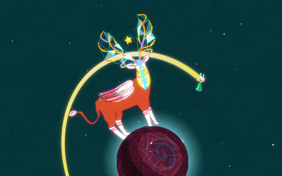 Ring around the reindeer