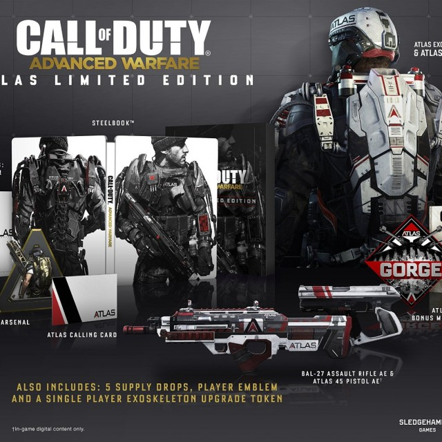 Call of Duty Advanced Warfare - Atlas Limited Edition XboxCall of Duty Advanced Warfare - Atlas Limited Edition Xbox