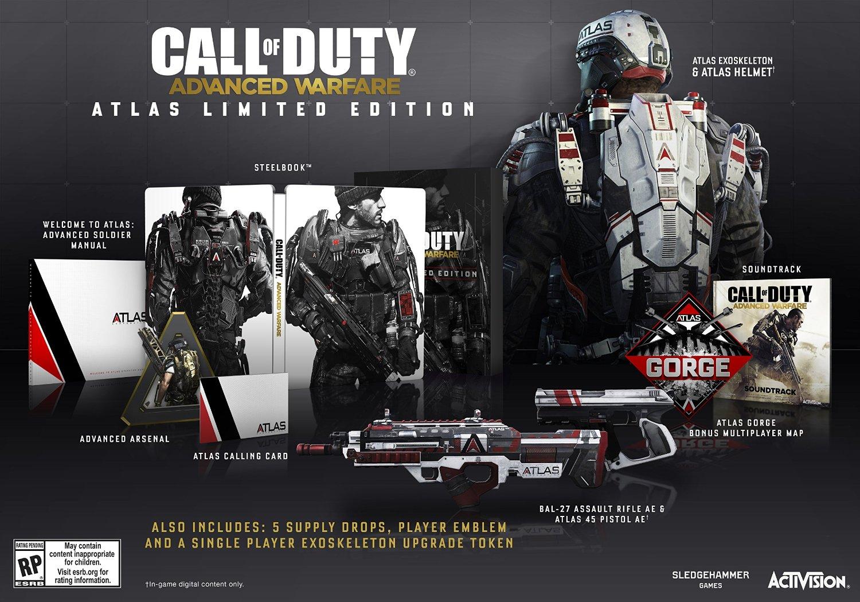 Call of Duty Advanced Warfare - Atlas Limited Edition XboxCall of Duty Advanced Warfare - Atlas Limited Edition Xbox