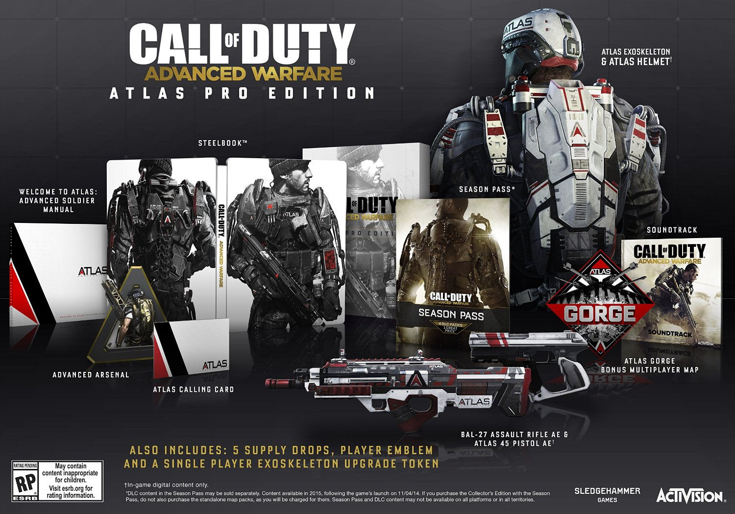 Call of Duty Advanced Warfare Atlas Pro Edition - PlayStation 4