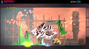 "Indie game ""Guacamelee"" for PS Vita"