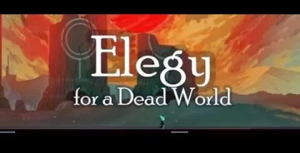 Elegy for a Dead World title