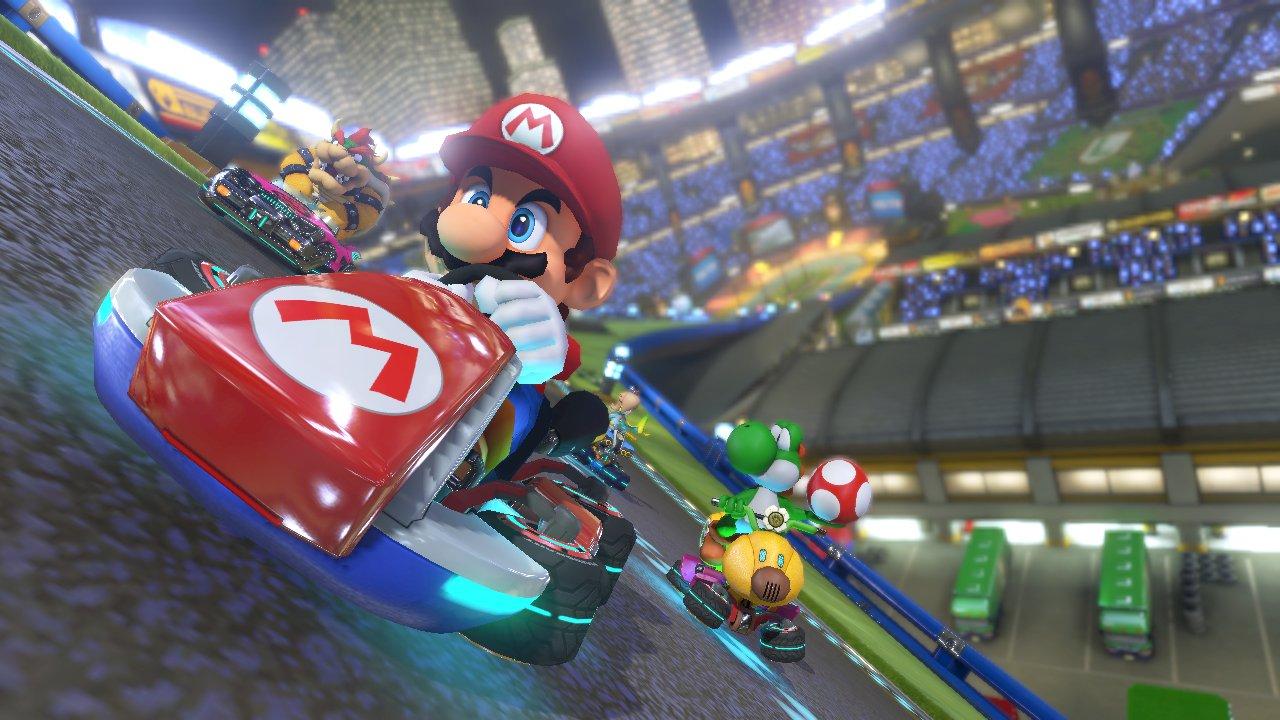 Mario Kart 8 Nintendo Wii U screenshot2