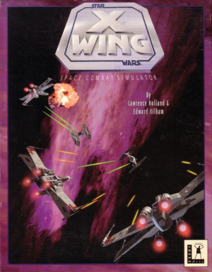 Star Wars X-wing LucasArts Box Cover