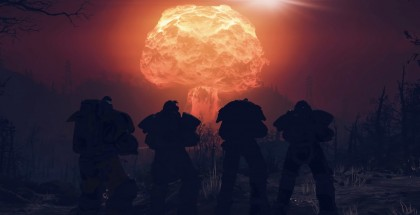 Fallout 76 nuclear missle