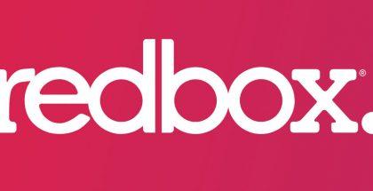 redbox logo on red