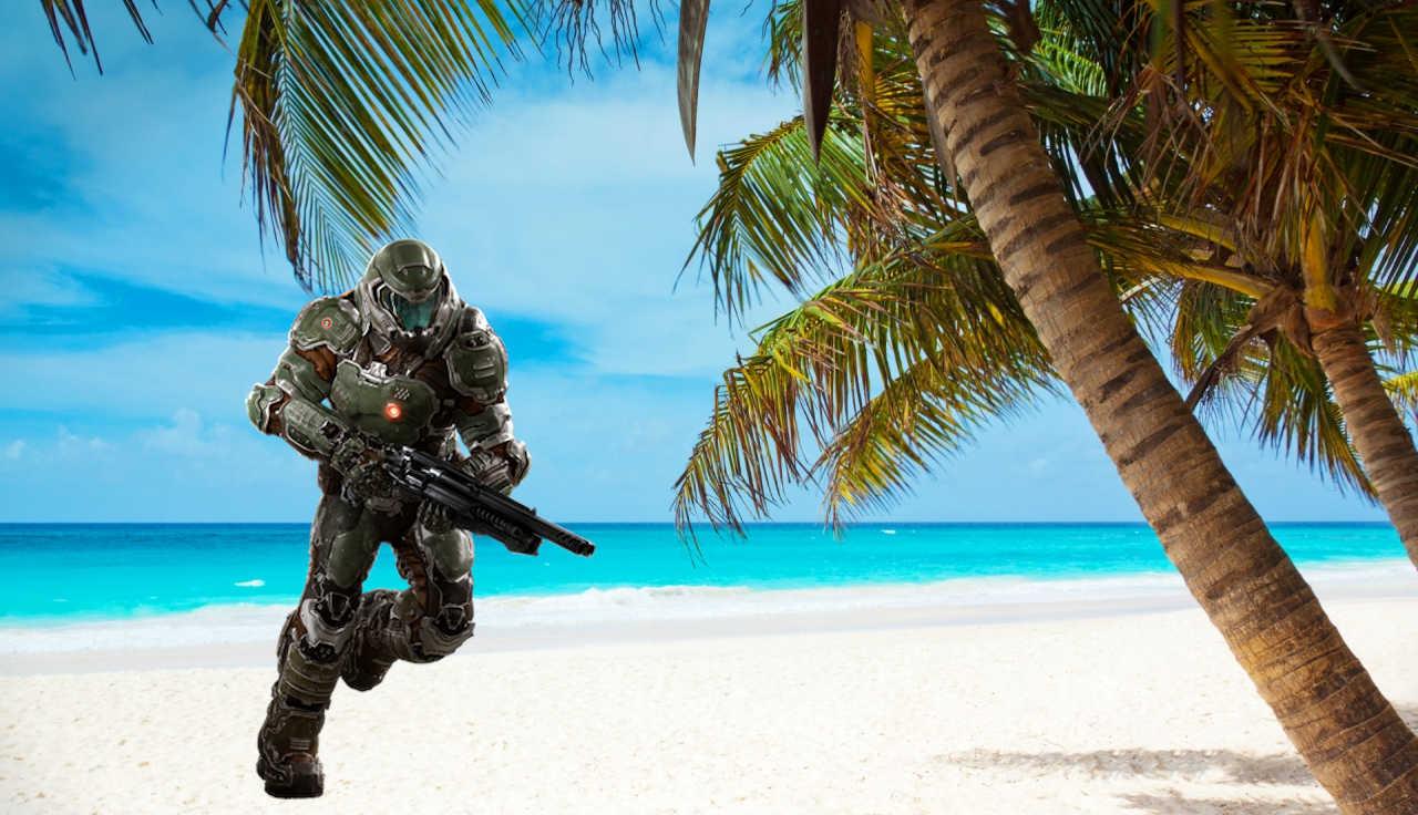 Slayer on the Beach