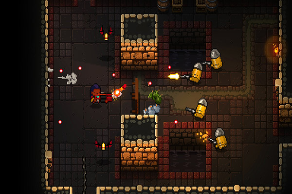 'Enter The Gungeon' still