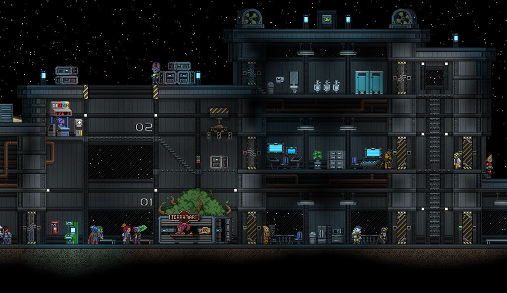 Starbound game still 1