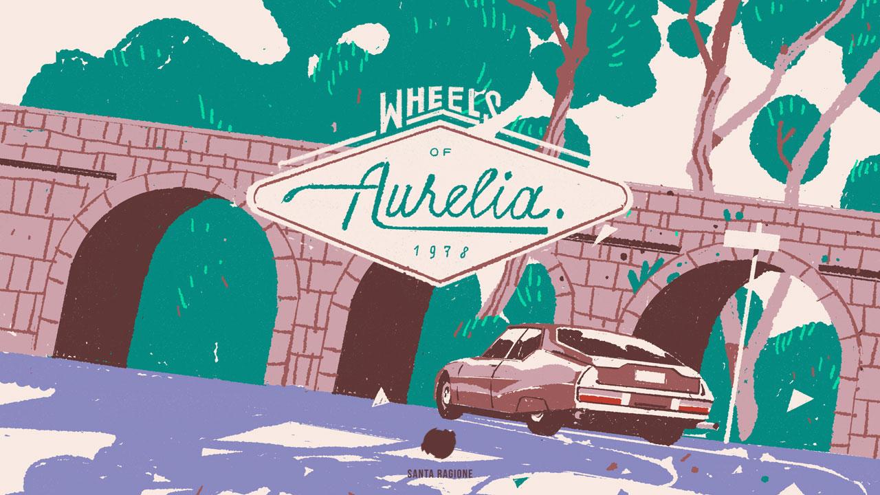 Wheels Of Aurelia title