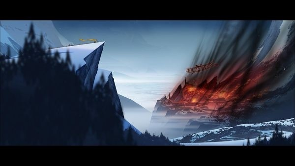 The Banner Saga game still 2