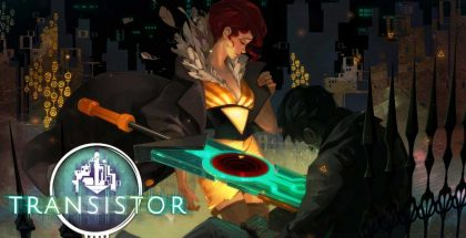 Transistor title screen