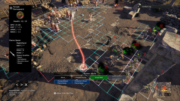 Warmachine- Tactics game still
