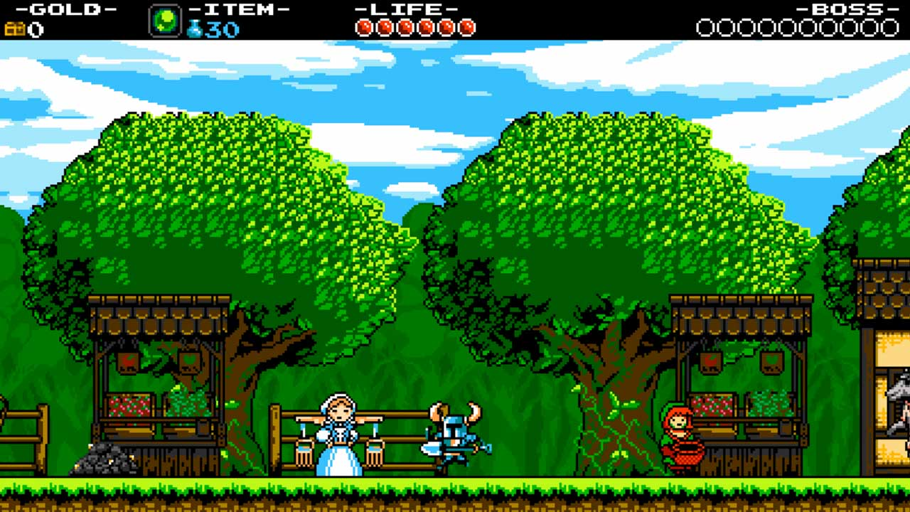 Shovel Knight game still