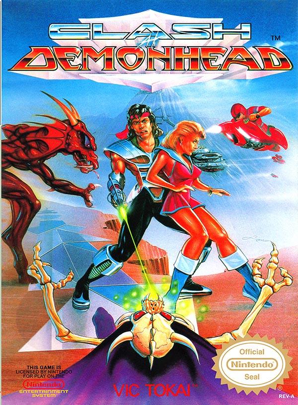 Clash at Demonhead NES cover art