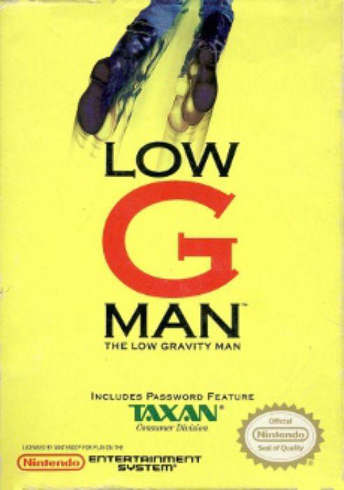 Low G Man NES package art
