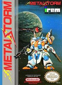 Metal Storm NES package art