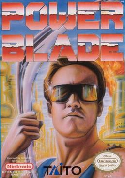 Powerblade NES box art