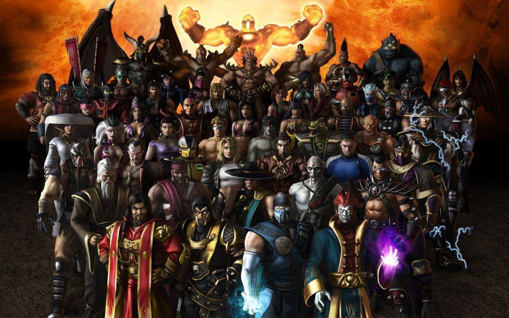 Mortal Kombat Roster